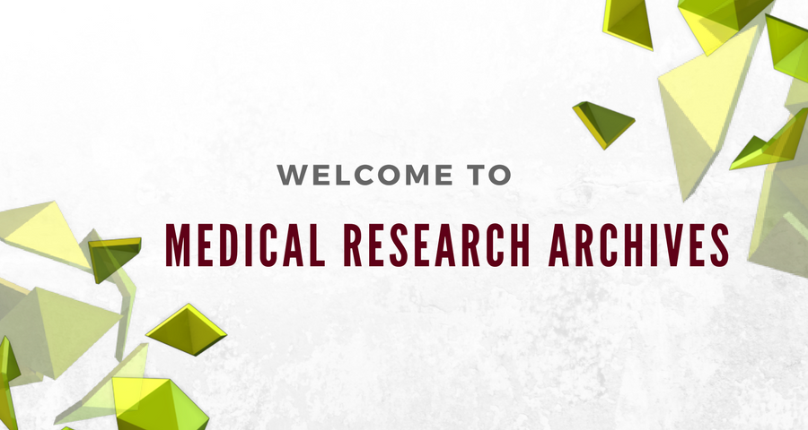 Medical Research Archives