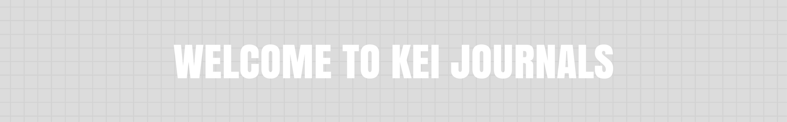 Welcome to KEI journals